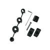SKS Kit de fijación para guardabarros Shockboard/Shockblade/Dashboard - para SKS Shockboard/Shockblade/Dashboard negro
